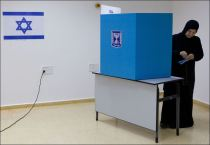 APTOPIX-Mideast-Israel-Election-vote